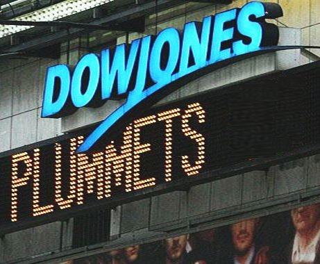 Dow Jones Plummets