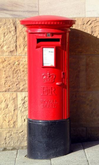 Royal Mail Letter Box.Royal Mail Post Box Silicon Uk