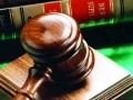 Court lawsuit gavel
