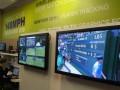 Screens in Wimbledon IBM technology bunker