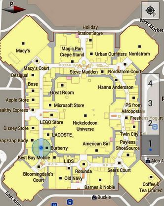 Google Maps UK For Android Goes Indoors - TechWeekEurope UK on