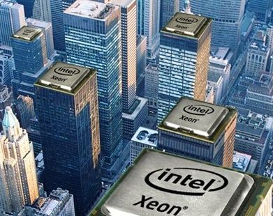 Intel Xeon cityscape