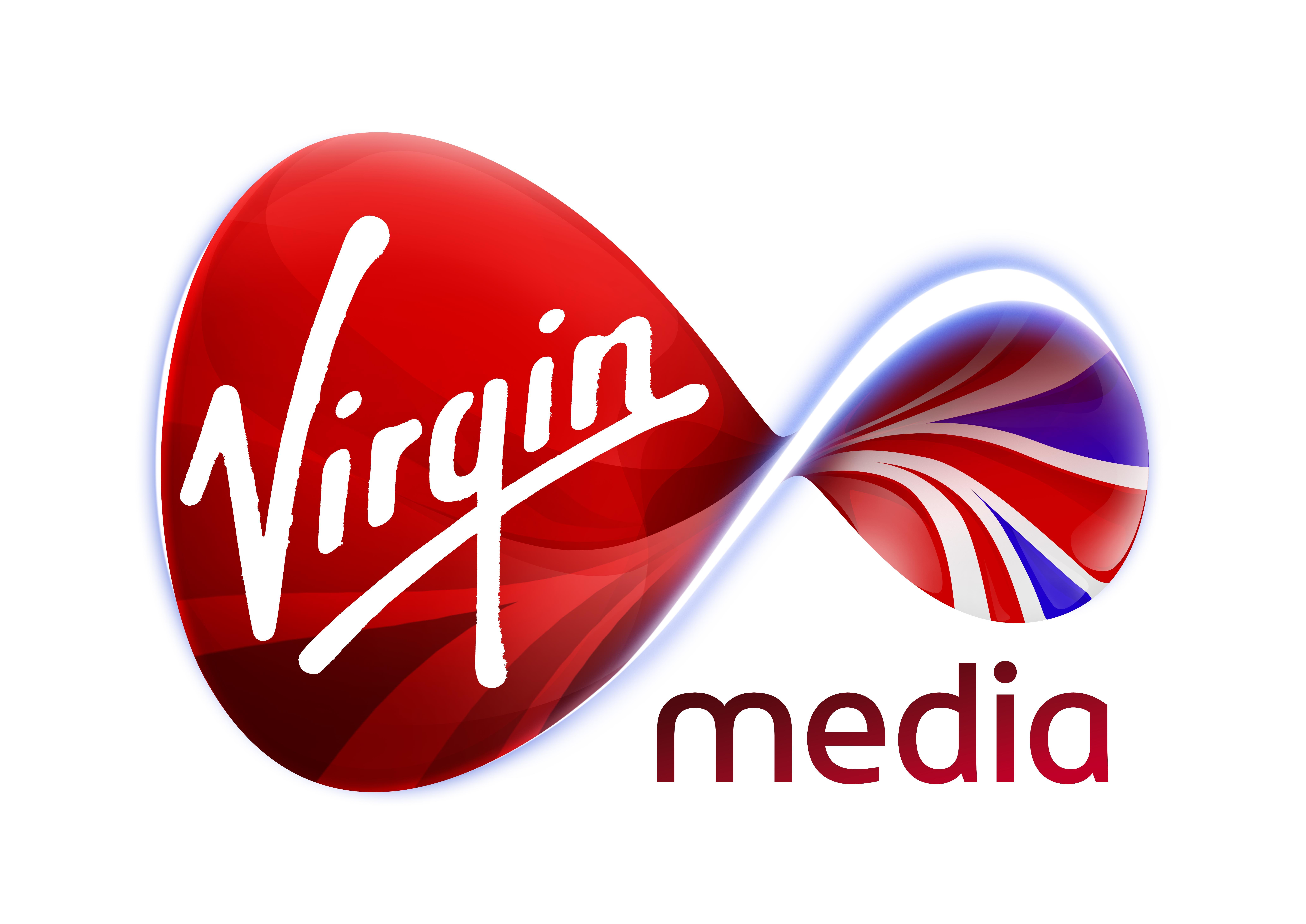 Virgin Media Union logo on white