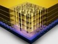 IBM-Micron 3D TSV chip diagram
