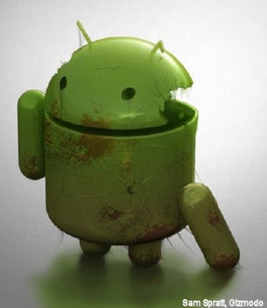 Android hack smartphone Goolgle