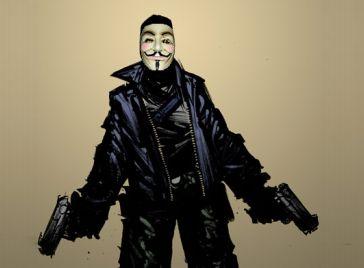 Anonymous terrorist landscape