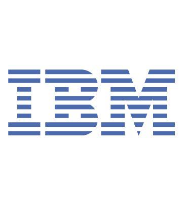 IBM Logo portrait
