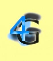 4G logo LTE large