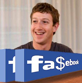 Zuckerberg Fa$ebook Facebook