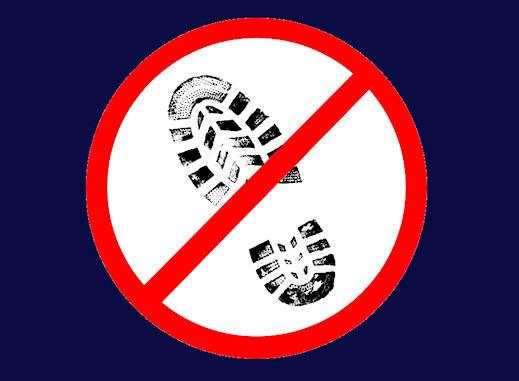 Do not track footprint