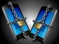 secure smartphone chain lock unlock