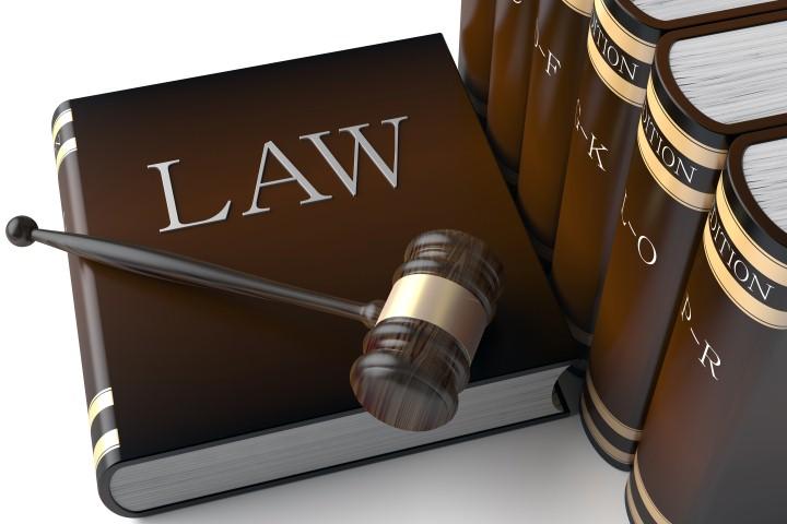 Row of leather law books on © ungureanusergiu - Fotolia