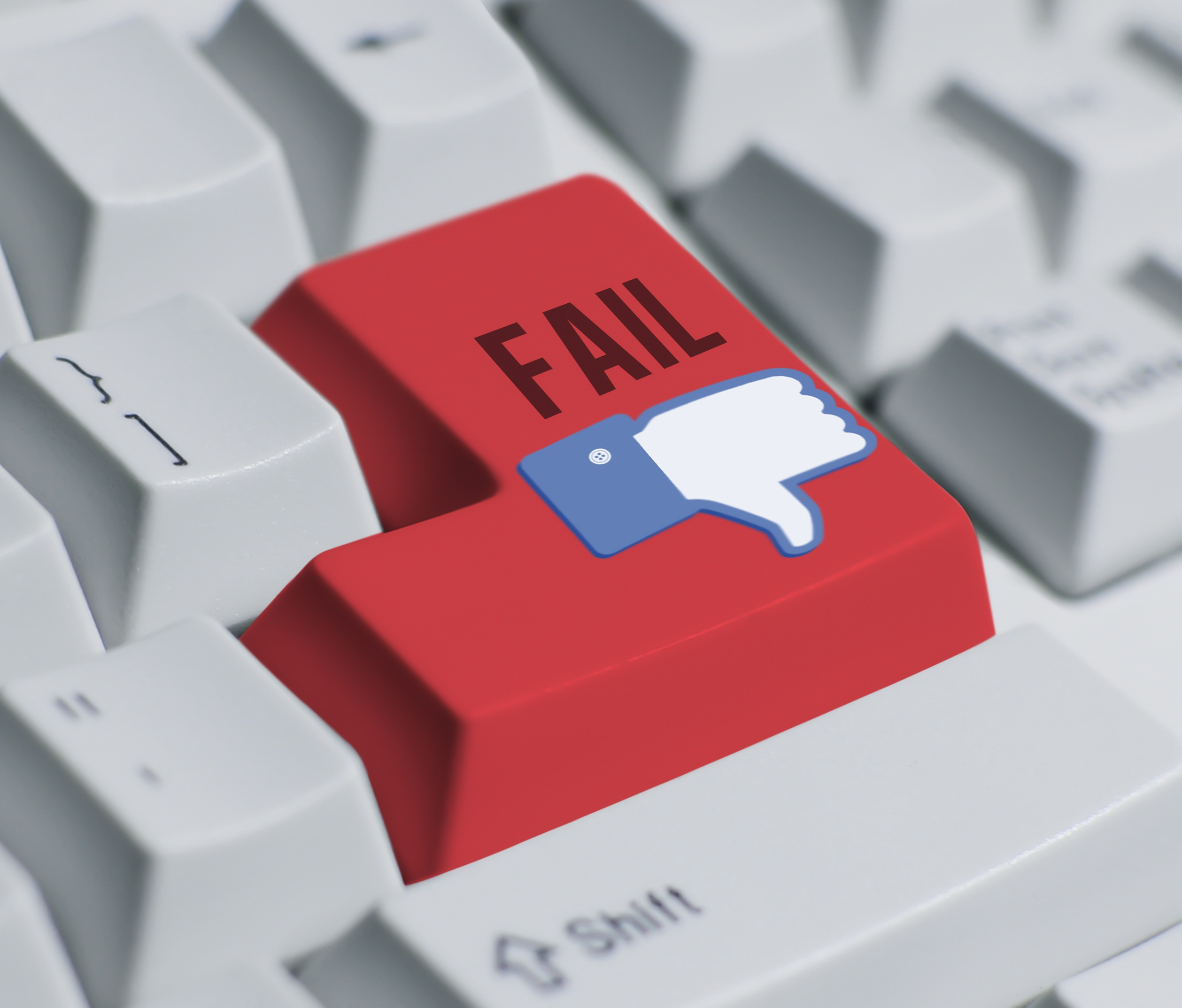 Fotolia: You Fail!---keyboard © gow27 #38082186