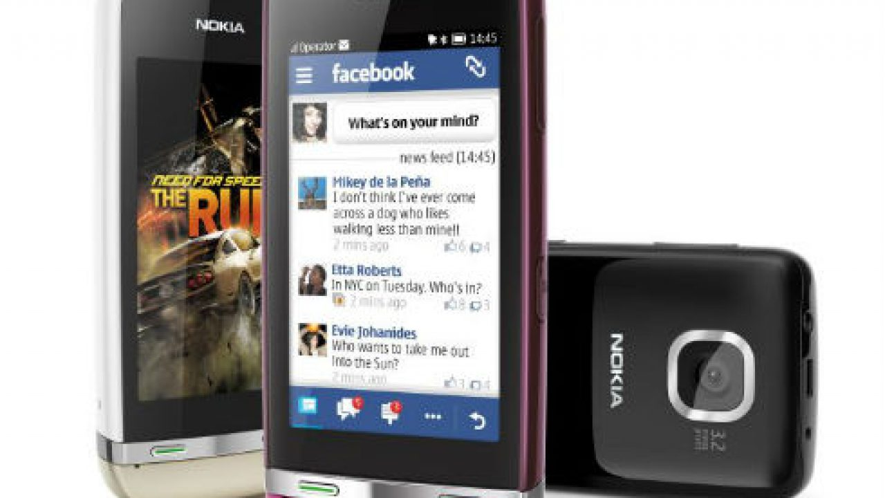 Nokia Reveals Three New Touchscreen Phones