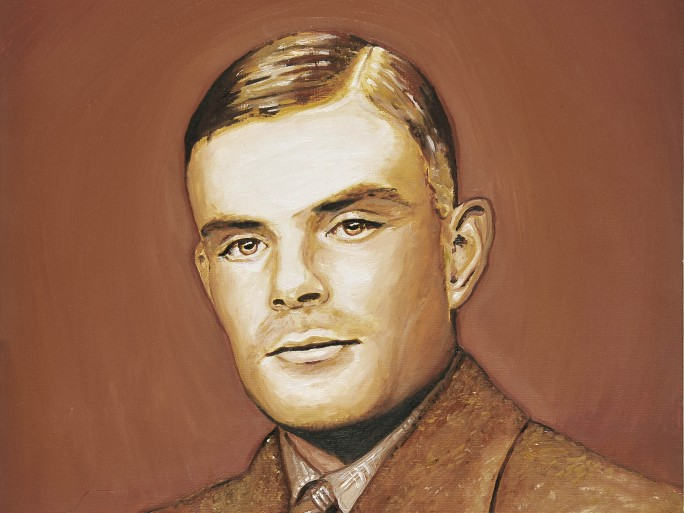 Turing portaint © Daniel Rogers