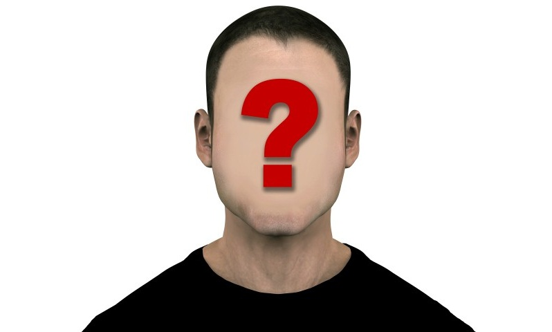 Unknown Generic Man with Blank Empty Anonymous Face © Michael Brown - Fotolia