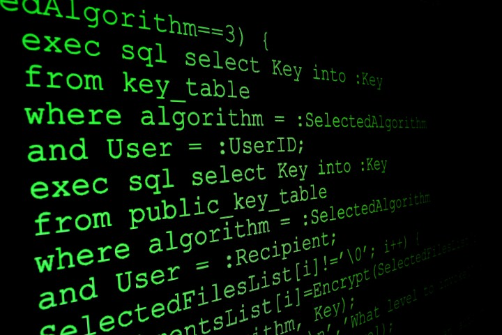 Program code on a monitor © alexskopje - Fotolia