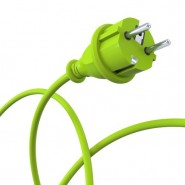 Green power plug - dynamic © electriceye - Fotolia