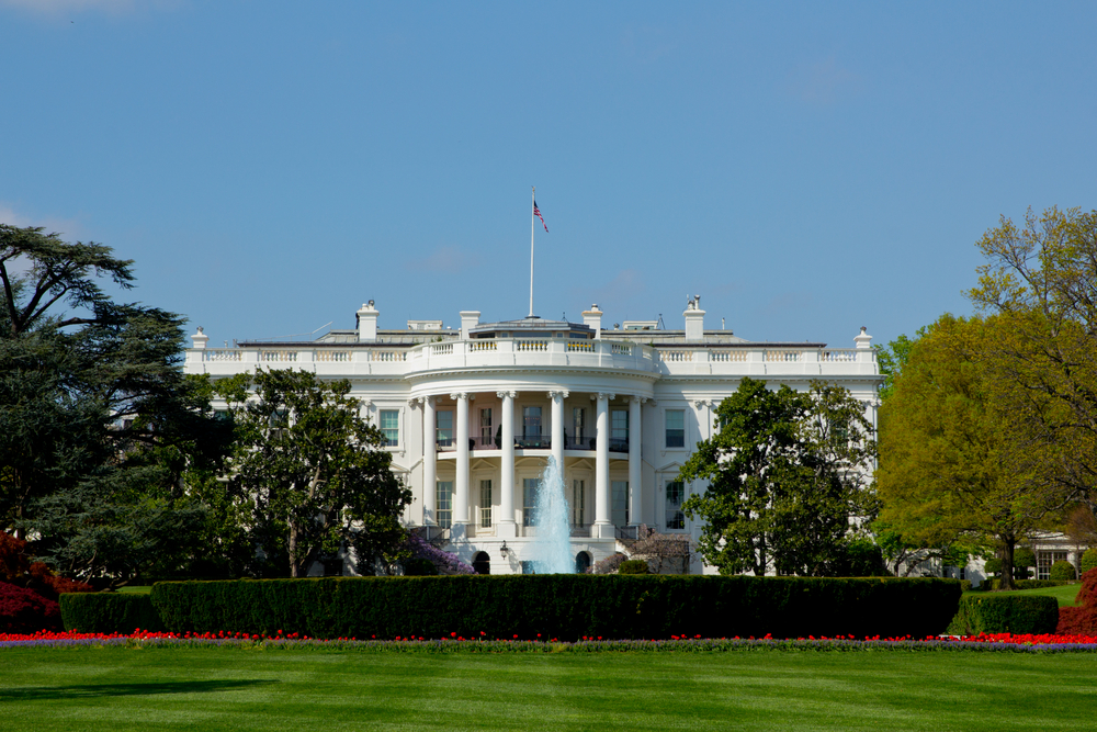 us government president white house © S. R. Green Shutterstock