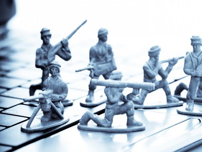 cyber war - Shutterstock: © jcjgphotography