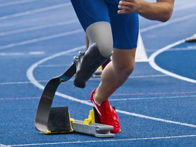 paralympic runner © Shutterstock