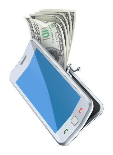 Mobile payments, money, smartphone © Slavoljub Pantelic Shutterstock 2012