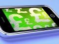 Mobile payments, money, pounds, smartphone © Stuart Miles Shutterstock 2012