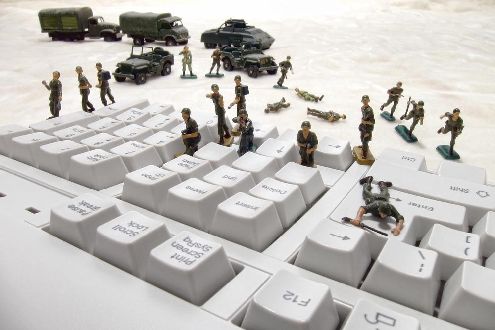 What is cyber warfare