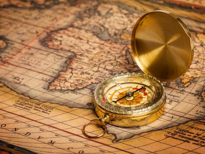 old map compass navigation © f9photos shutterstock