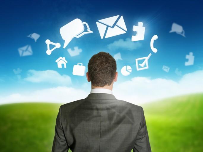 concept businessman email social cloud © James Thew Shutterstock
