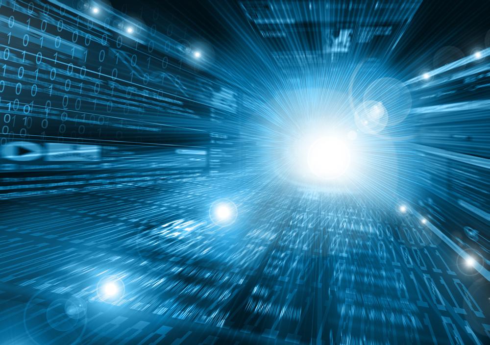 concept network fibre chip abstract network broadband © Toria Shutterstock