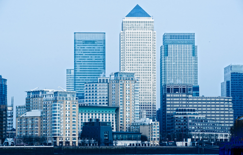 Finance IT, Canary Wharf © Luciano Mortula Shutterstock 2012