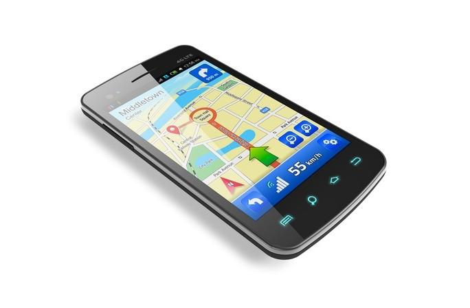 Maps, navigation, smartphone © Oleksiy Mark Shutterstock 2012