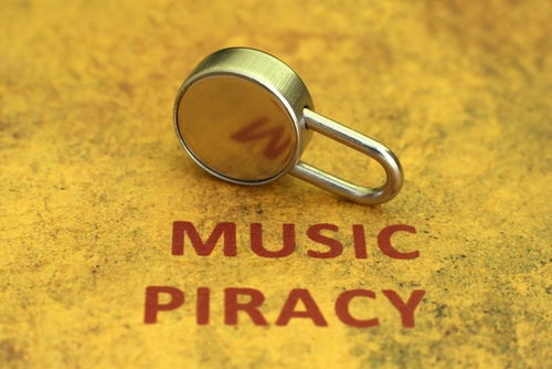 Music piracy © alexskopje Shutterstock 2012