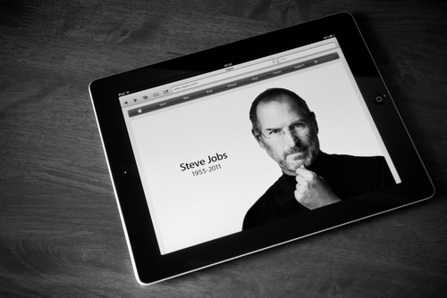 Steve Jobs, Apple, iPad © bloomua Shutterstock 2012