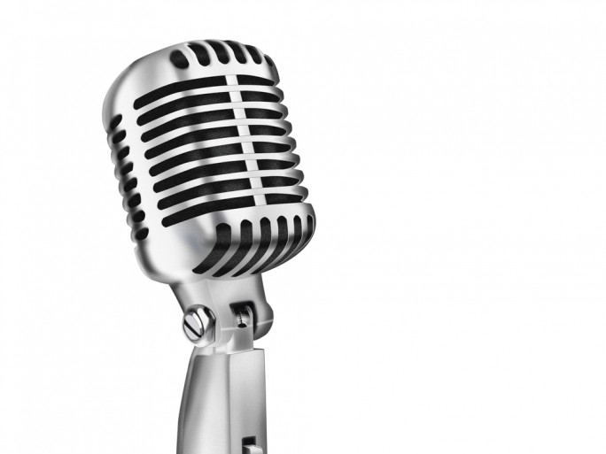 microphone sound, music MP3 © Shutterstock MR.LIGHTMAN