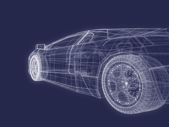 3D graphic car CAD CAE HPC © Verticalarray Shutterstock