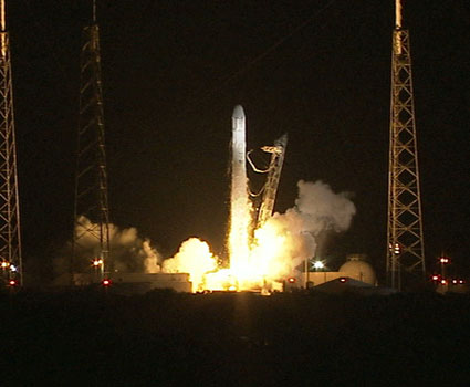spacex launch nasa space ISS