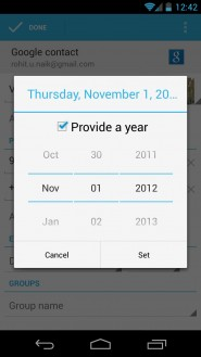 Android Calendar Flaw