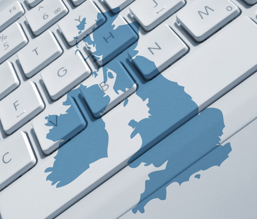 Britain United Kingdom Keyboard, Shutterstock - © ronfromyork