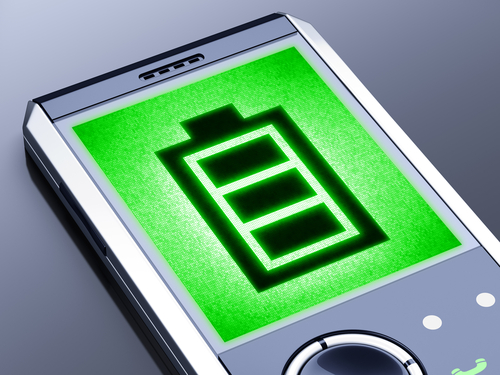 Smartphone battery © Pavel Ignatov Shutterstock 2012