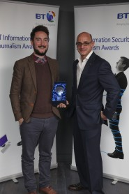 Tom Brewster Information Security Journalist Of the Year 2012