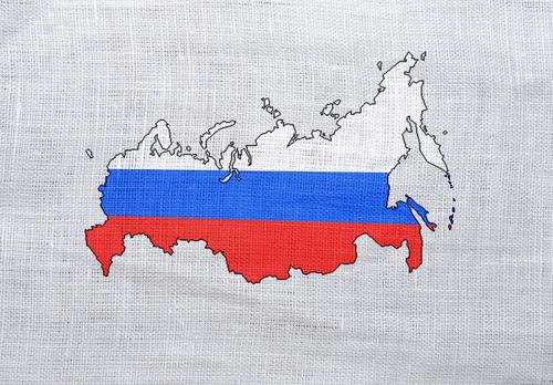Russian flag © esfera Shutterstock 2012