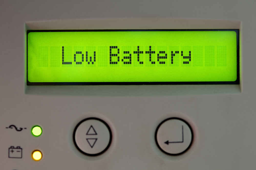 UPS uninterruptible power supply battery energy © nikkytok Shutterstock