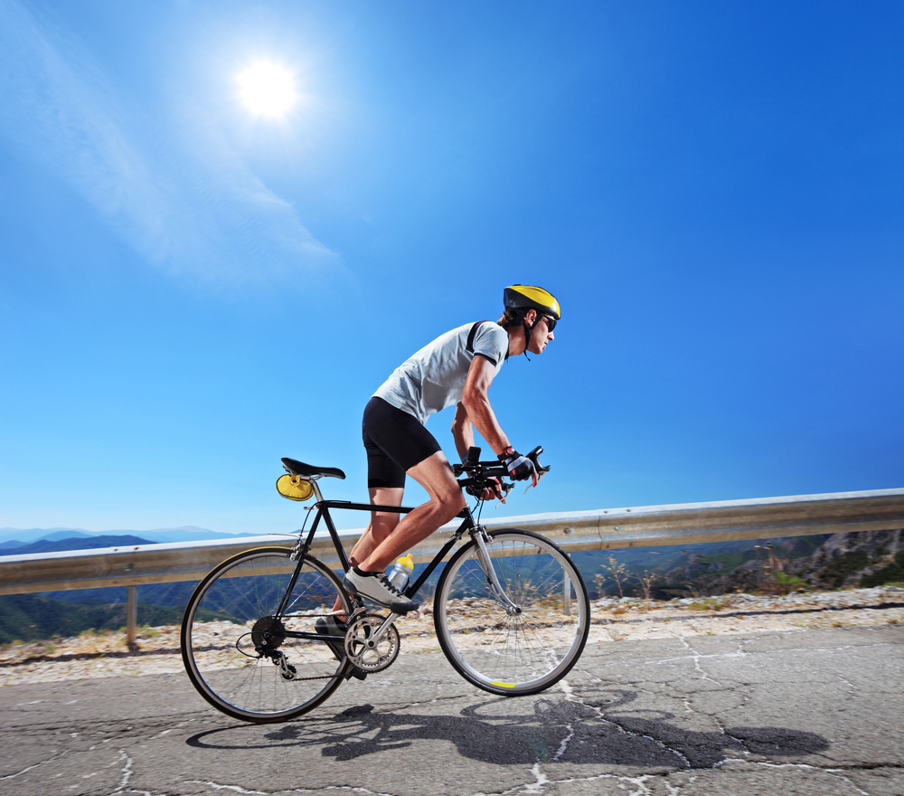 bicycle bike cyclist pedal © Shutterstock Ljupco Smokovski