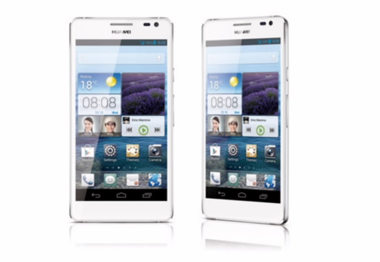 Huawei Ascend D2 Android Smartphone CES 2013