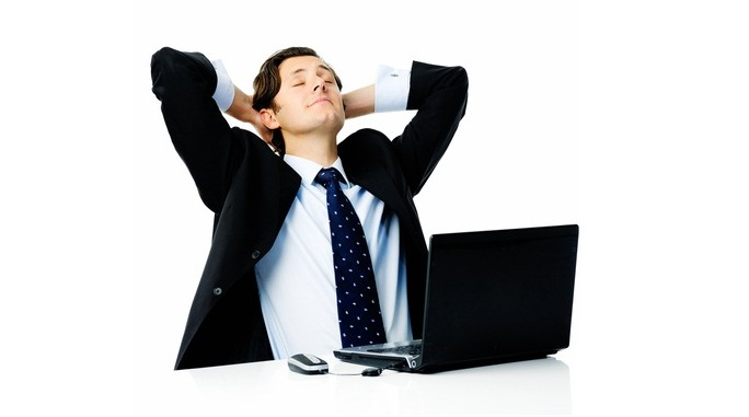 Carefree IT manager © Warren Goldswain Shutterstock 2012
