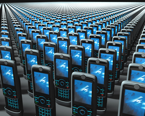 Mobile phones © Fernando Gonzalez S, Shutterstock 2012