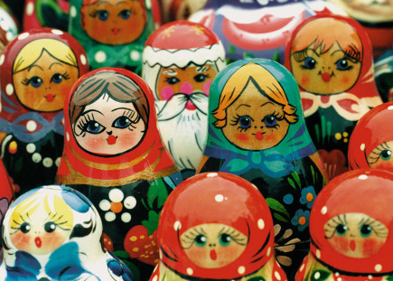 Russian Dolls - Image by © Royalty-Free/Corbis