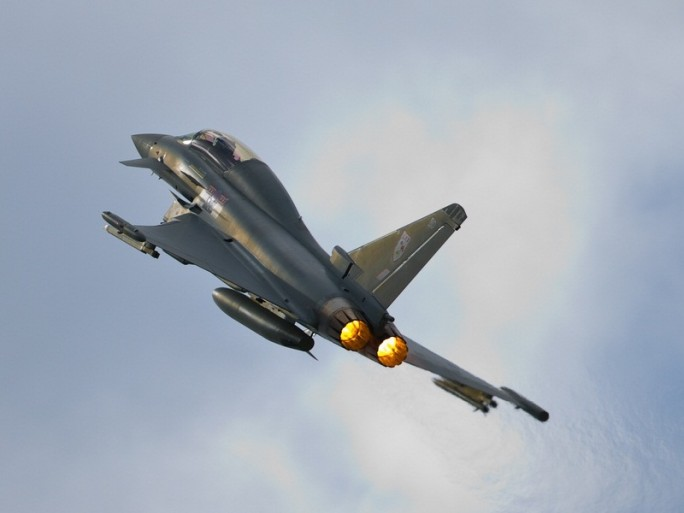 eurofighter eads military aircraft plane defence © Graham Taylor Shutterstock